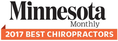 2017 Minnesota Monthly Best Chiropractor