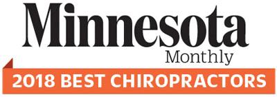 2018 Minnesota Monthly Best Chiropractor