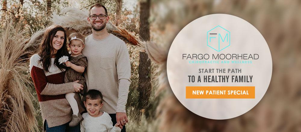 Chiropractor Fargo ND Seth Lunneborg Fall Family